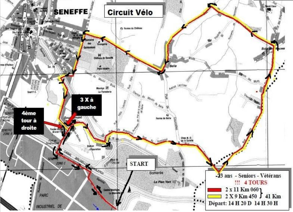 Circuit vélo DO